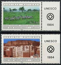 United Nations Vienna 1984 SG#V41-2 World Heritage MNH Set #A91989