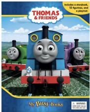 Thomas The Tank Engine 12 Figurines Busy Book & Playmat Cake Topper Party