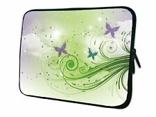 "15""-15.6"" LAPTOP SLEEVE CARRY CASE BAG FOR DELL APPLE ALL MAKES*3 butterflies*"