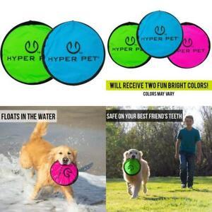 Hyper Pet Flippy Flopper Dog Frisbee Interactive Dog Toys [Flying Disc Dog Fetch
