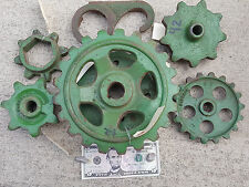 Lot of  Cast iron Steampunk Gears/ Machine Parts for lamp project or decor