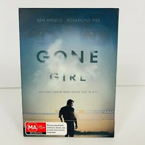 Gone Girl (DVD, 2014) Ben Affleck - Cardboard Case Region 4 Free Postage
