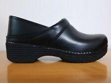 Dansko LT PRO Black Leather Women's Clogs - NEW - Choose Size