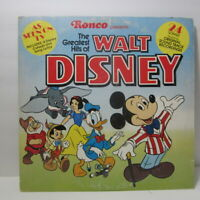 LP - Ronco Greatest Hits Of Walt Disney - 24 Original Songs  (ST)