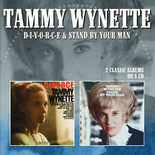 TAMMY WYNETTE New Sealed 2019 DIVORCE/STAND BY YOUR MAN CD