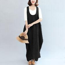 Women's See Through Tank Dress Suspender Skirt Long Maxi Dress Shirt Dress Plus