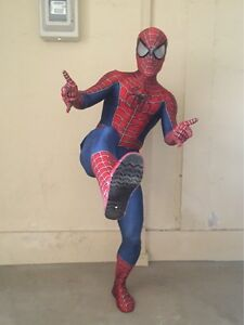 Raimi Spiderman Costume 3D Printed Cosplay Suit For Kids/Adult Including shoes