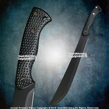 Fixed Blade Zombie Killer Sword  Survival Jungle Bolo Machete  Anti Slip Handle