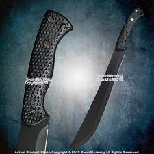 Fixed Blade Zombie Killer Sword  Survival Jungle Bolo Machete  Anti Slip Handle