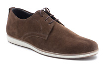new MEN'S Red Tape Churton Suede Pumps Smart Casual Shoes Brown UK size 9
