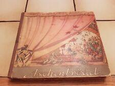 KRENN'S THEATER-ALBUM: ASCHENBRÖDEL, 1943, PAPIERTHEATER, POP-UP-BUCH, 6 Szenen