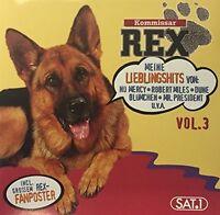 Kommissar Rex 3 (1996) Blümchen, Dune, Backstreet Boys.. [CD]