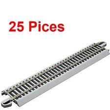 Bachmann 44581 22.9cm liso Níquel plata juego Ho Vías de tren (25 piezas)