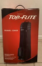 Top Flite Golf Club Bag Travel Cover Padded Protector Carry Rolling Duffle Case
