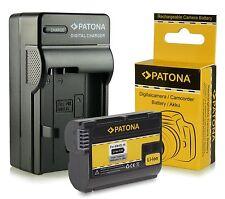 batteria + caricabatteria per nikon d600 d610 nikon 1 V1 d750 1600 mah enel15