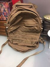 London Bridge Trading LBT-1476A Three Day Assault Pack Coyote military book bag