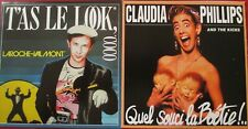 "CD SINGLE - LAROCHE-VALMONT ""T'AS LE LOOK COCO"" /  CLAUDIA PHILLIPS ""QUEL SOUCI"""