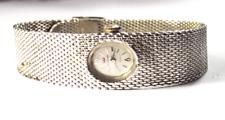 Vintage Women's Waltham UT231A 21J Manual Wind Wristwatch 17mm Mesh Band