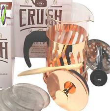 BonJour Coffee Insulated Borosilicate Glass Espresso Cups, 2 Piece Set, 6 Ounces Each