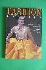 FASHION VISTA PREVIA s/s 1991 MADRID BARCELONA MILANO COLECCIONES ALTA MODA