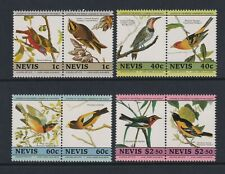 Nevis - 1985, Leaders Du Monde, J Audubon, Oiseaux Ensemble - MNH - Sg 285/92