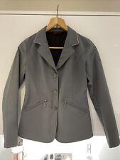 Horseware Embellished Competition Jacket - Grey / Diamanté CollarUK 8 XS RRP £80