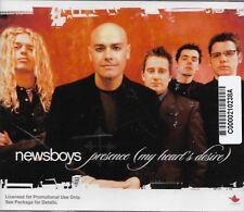 Presence (My Heart's Desire) by Newsboys (Cd 2004) [2 versions+1] Promo CD