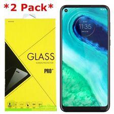 2-Pack Premium Tempered Glass Screen Protector For Motorola Moto G Fast
