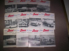 Vintage Buick Magazine The Buick Bugle 1977 Lot of 12 Volume 11 & 12 Nice!