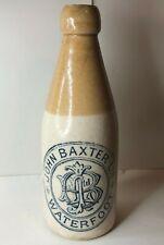 More details for antique ginger beer bottle john baxter ltd waterfoot glentop brewery 20 cm's