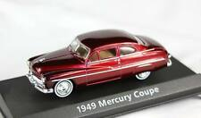 MERCURY COUPE 1949 '49 MOTORMAX 73415AC 1:43 NEW DIECAST MODEL RED
