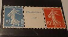 Cœur du bloc n°2 expo philatelique 1927/trace de charnière/PayPal UNIQUEMENT