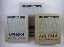 1980's Bandai Japan HCM L-Gaim MKI, MKII, Auge Set  Dougram Votoms Gundam Popy