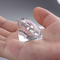 Crafts Artificial  Wedding Jewelry Cut Glass Paperweight Clear Crystal