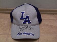Jose Lima Autograph Los Angeles Dodgers Baseball Hat Cap Sewn Logo