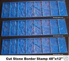 3 Granite Tile Border Decorative Concrete Stamps mat