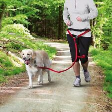 Keep Fit With Your Dog - Dog Jogging Lead Red for Medium Large Dogs 12766