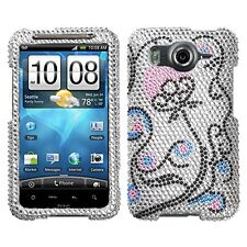 Sunny Flower Bling Hard Case Phone Cover HTC Inspire 4G