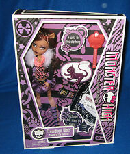 Monster High Clawdeen Wolf With Pet Crescent & Diary 1St Series New