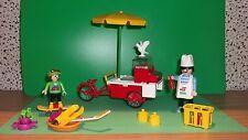 Playmobil  Hot Dog Stand mit diversen Zubehör
