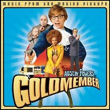 Austin Powers in Goldmember; Soundtrack 2002 CD, Beyonce, Rolling Stones, Britne