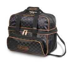Storm 2 Ball Tote Bowling Bag with shoe pocket Color Black/Gold