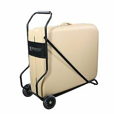 Master Massage Universal Trolley Rolling Wheels Fold Dolly Table Cart Carrier