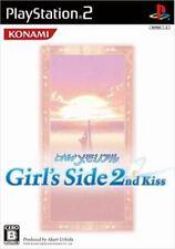 Used PS2 KONAMI Tokimeki Memorial Girl's Side 2nd  SONY PLAYSTATION JAPAN IMPORT