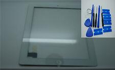 Nuevo Digitalizador Ipad 3, pantalla táctil, Cristal Frontal Blanco, Adhesivos 3M