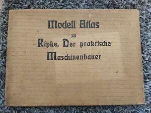 Modell Atlas zu Ripke, Der praktische Maschinenbauer