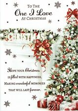 To The ONE I LOVE - Quality CHRISTMAS Card Tree Design