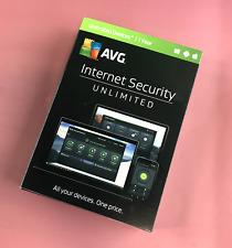 Internet Security AVG Unlimited Devices for Windows, Android, Apple 1 year #7834
