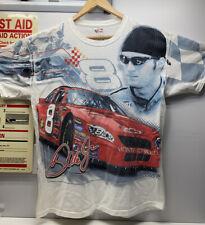 Vintage NASCAR Retro Dale Earnhardt Jr. All Over Print T-Shirt Size M Chase Athn