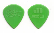 Metallica Kirk Hammett Green Teardrop Jazz III Guitar Pick - 2008 Magnetic Tour